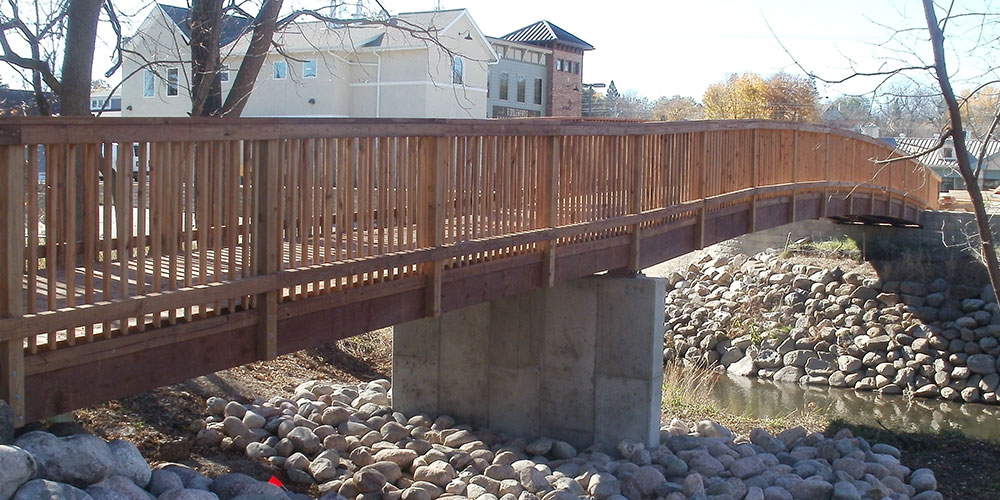 Pedestrian Bridge | James Heidt Engineer