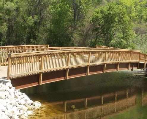 Handicapped Fishing Bridge | James Heidt Engineer