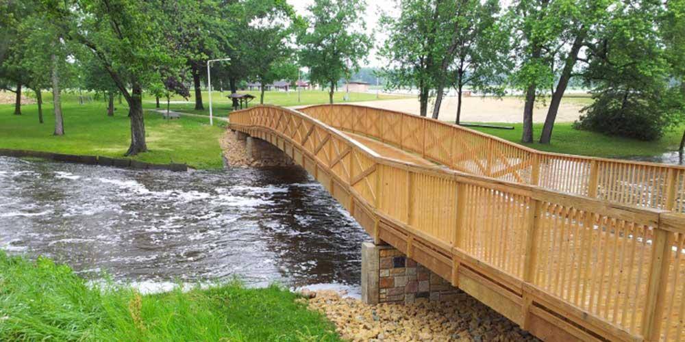 Pedestrian Bridge - Bellville WI | James Heidt, Engineer