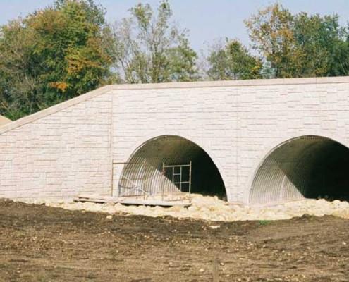 Twin Arch Culvert Bridge | James Heidt - Engineering