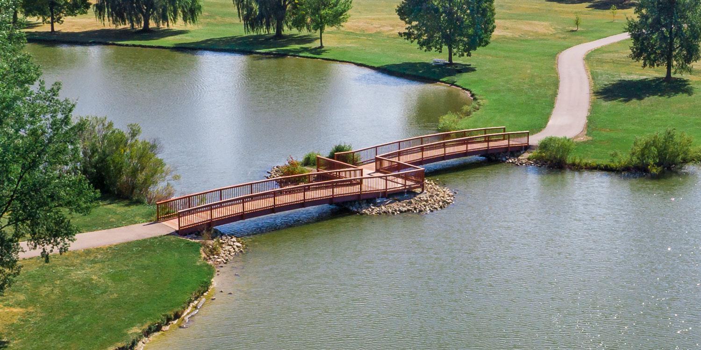 Two Span Fishing Bridge | James Heidt, Structural Engineer
