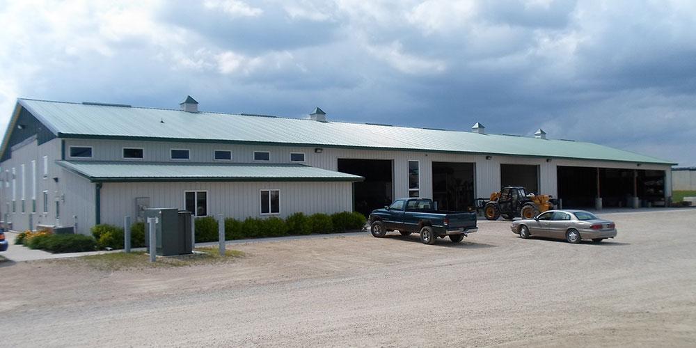 Farm Equipment Repair Shop | James Heidt Engineer